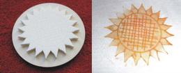 Razítko slunečnice - pr.6,5cm - zvětšit obrázek