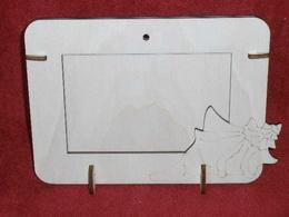 R2V001 - 2v1 rámeček na šířku fota 10x15cm - LASTURA-MUŠLE - zvětšit obrázek