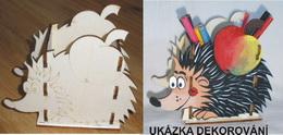 TP3D0122 - Krabička na tužky JEŽEK 16x14x9cm - zvětšit obrázek