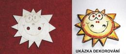 TP3D0250 - Sponka nebo knoflík SLUNÍČKO - 6x5,5cm - zvětšit obrázek
