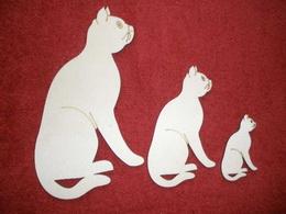 TRS12 - Trojsestava Kočka sedící - zvětšit obrázek