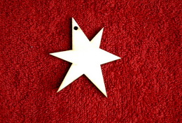 2D výřez hvězda v.7x6cm - zvětšit obrázek