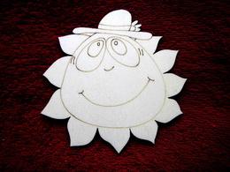 2D výřez sluníčko kluk- pr.13cm - zvětšit obrázek