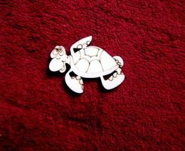 2D výřez želva- cca v.4x5cm - zvětšit obrázek