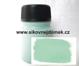 Akrylová barva MAT hráškově zelená 140g VELKÉ BALENÍ - zvětšit obrázek