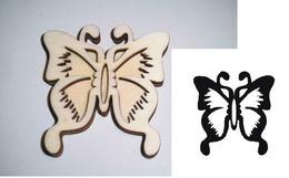 Razítko překližka motýl vyř.-v.8,5x8cm - zvětšit obrázek