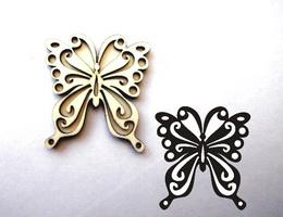 Razítko překližka motýl-v.10x9,2cm - zvětšit obrázek