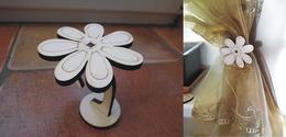 Držák na šifonové záclony květina - zvětšit obrázek