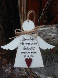 3D anděl Jsou lidé - v.14x17cm - zvětšit obrázek