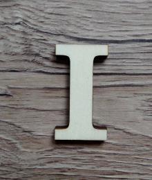 +2D výřez písmeno obyč.  v.cca 4,2cm - I - zvětšit obrázek