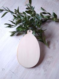 2D výřez vejce čisté - 9,5x5,7cm - zvětšit obrázek