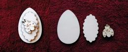 3D zápich na špejli vejce+beruška-3ks - zvětšit obrázek