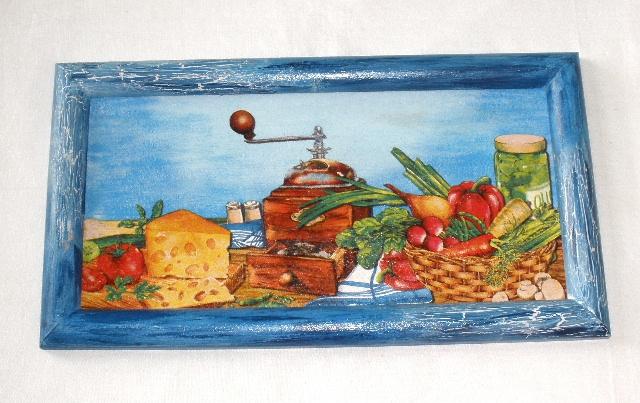 Obrázek kuchynì -mlýnek cca 36, 5x20cm