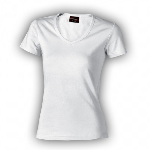 Dámské triko krátký rukáv BÍLÉ vel.XXL zn.LAMBESTE