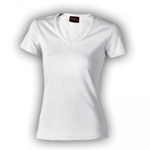 Dámské triko krátký rukáv BÍLÉ vel.M zn.LAMBESTE