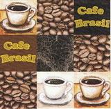 KC 042 - ubrousek 33x33 - cafe brasil