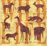 ET 017 - ubrousek 33x33 - wild life
