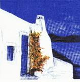 MO 023 - ubrousek 33x33 - domek u moře