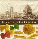 KM 051 - ubrousek 33x33 - pasta italiana