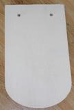 Prkénko - střešní taška  překližka 28,5x17cm