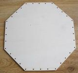 SBPD007 - dno na pedig překližka osmihran 23x23cm