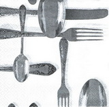 KM 072 - ubrousek 33x33 - kuchyňské příbory