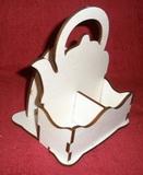 *Stojánek na čaj 2 komory - motiv KONVIČKA