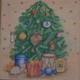VM 061 - ubrousek 33x33 - vánoční strom