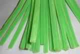Plyšový drátek 0,8cm/30cm zelená jasná neon