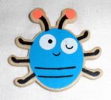 BP - brouk modrý dřevěný