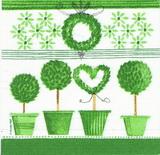 ZA 113 PPD - ubrousek 33x33 - zele.květníky