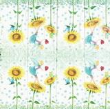PK 041 - kapesníček 21x21 - květ.víla