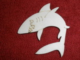 TP2D052 - 2D výřez žralok malý 5x5cm