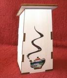 Box na čajové sáčky Budka s konévkou