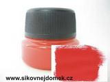 0815 - Akrylová barva MAT 40g červená