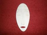 TP2D062 - 2D výřez etno motiv Maska silná v.11x5cm