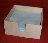Zásobník na papírové ubrousky na stůl - 17,8x17,8x8,5cm