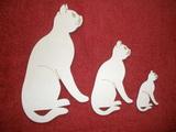 TRS12 - Trojsestava Kočka sedící