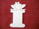 Podložka na stuhy žába  v.14x8,4cm