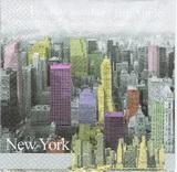 ZA 130 R2S - ubrousek 33x33 - barevný new York