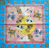 DE 282 - ubrousek 33x33 -  littlest pet shop