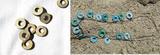 2D výřez prořízlé kolečko pr. 2,5cm-cena za 100ks