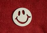 2D výřez smajlík usměváček - pr.7cm