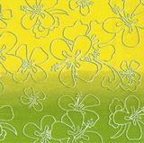 OS 144 Ihr - ubrousek 33x33 - obrysy na zeleném