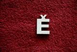 2D výřez písmeno Ě v.cca   2,4cm
