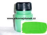 Akrylová barva MAT 140g sv.zelená č.35 VELKÉ BALENÍ