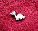 2D výřez dinosaurus č.2- v.2,5x4,2cm