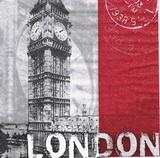 ZA 157 - ubrousek 33x33 -post London