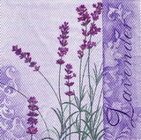 BY 095 - ubrousek 33x33 -lavender
