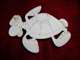 2D výřez želva- cca v.8x10,2cm
